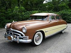 1951 Hudson Hornet. At the time they were one of the fastest cars on the road.