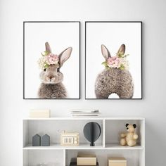 Nursery Bunny Canvas