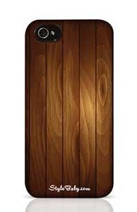 Wood Apple iPhone 4 Phone Case