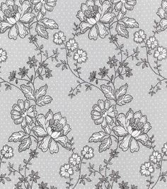 Designer wallpaper online store for usa canada nipa love art keepsake calico cotton fabric lace on dots gray sisterspd