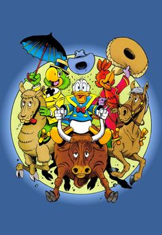 The Three Caballeros by Don Rosa
