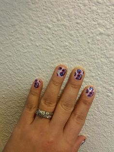 """Style """"Pink & Purple Peacock"""" You can view or order here http://scschmickle.jamberrynails.net/product/pink--purple-peacock #JamberryNails #Jamberry #NailArt  #NailWraps #Peacock"""