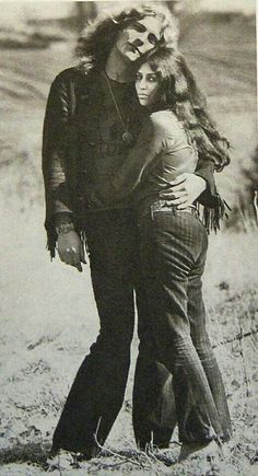 Rare pic~ Robert and Maureen