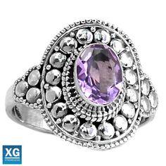 Amethyst-925-Sterling-Silver-Ring-Jewelry-s-8-5-SR91887