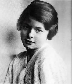 A young Ingrid Bergman.