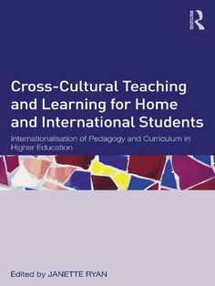 Cross-Cultural Teaching and Learning for Home and International Students : Janette Ryan Physics Research, Essay Structure, Online Marketing Tools, Challenges And Opportunities, Essay Questions, Student Engagement, Research Paper, Essay Writing, Higher Education
