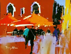 British pastel master Tony Allain represented on Cape Cod exclusively at Gallery 31 Fine Art — Gallery 31 Fine Art Abstract Landscape, Landscape Paintings, Abstract Art, Landscapes, The Artist Magazine, Eye Painting, Maritime Museum, Impressionist Art, Fashion Painting