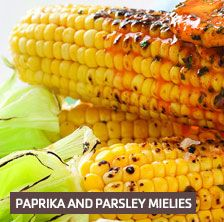 Paprika and parsley mielies