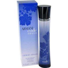 305312e2d Armani Code Sheer Armani Code For Women, Cosmetics & Fragrance, Giorgio  Armani, Best
