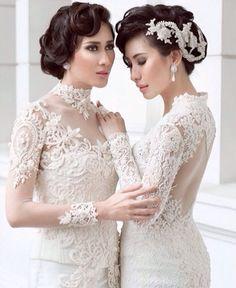 Angelic #white #kebaya #indonesian