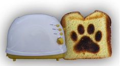 Fun Pawprint Toaster!