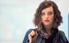 Katherine Langford. Wonder if I could pull off this look? Love her hair