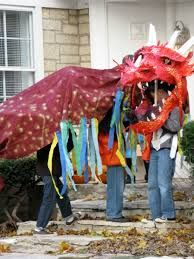 Image result for how to make a chinese dragon