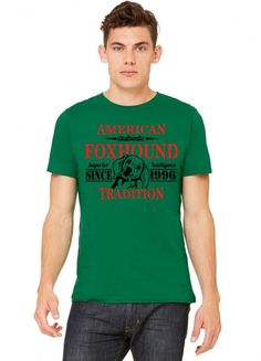 Authentic American Foxhound Tradition Tshirt