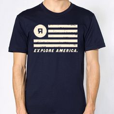 Refueled Magazine T-shirt, made in CA, CO, and TX. Purchase to support 546 American workers and get 378 Boom™ Points. #ExploreAmerica #MadeInUSA @Chris Brown