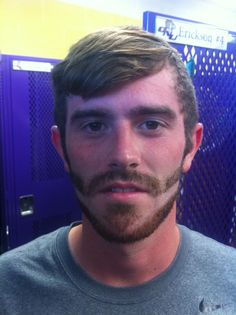 Creativity can be for facial hair too