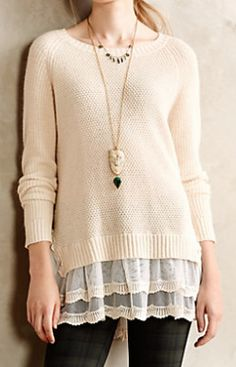 mixed media pullover  http://rstyle.me/n/qisfepdpe