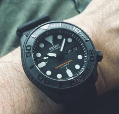 Customer Gallery - Unnamed Source by imobarth - Stylish Watches, Cool Watches, Watches For Men, Luxury Watches, Seiko Samurai, Seiko Automatic Watches, Seiko Skx, Field Watches, Hublot Watches