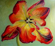 "Saatchi Online Artist Kamille Saabre; Painting, ""Full"" #art"