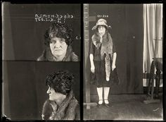 AUSTRALIAN MUGSHOTS | Alma Henrietta Agnes Smith, 29 August 1929 | State Reformatory for Women, Long Bay, NSW | Alma Smith worked as an illegal abortionist in the northern NSW town of Tamworth. A young woman, who later died as the result of a botched abortion, identified Smith as the abortionist. Smith denied knowing the woman but was convicted and sentenced to five years gaol {jail}. Aged 34.
