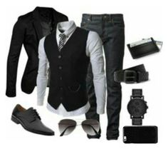 """mens outfit #2"" by queenhanan ❤ liked on Polyvore featuring beauty and Maison Margiela"