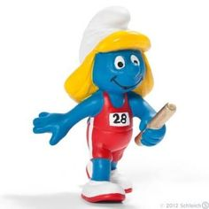 Olympic Smurfs: Relay Runner Smurf