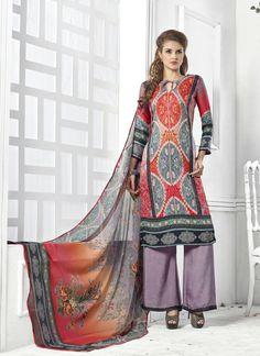 Multi Colour Wholesale Straight Salwar Kameez In Pashmina Fabric