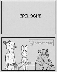"Comic: ""I (Less Than Three) U"" [FULL COMIC] (original by Mister Mead) - Zootopia News Network"