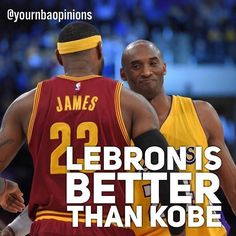 regram @yournbaopinions  Its straight up disrespectful to compare LeBron to Kobe. Ranks better in every category but Free throw percentage and Rings. Yet still has more finals MVPs. Will finish with the most career points top 20 in rebounds and top 10 in assists. Clearly better than Kobe and did most of it with a much worse supporting cast than Kobe. Kobe would have 2 rings without Shaq. Whos arguably better than Kobe.  I agree that LeBron is the much better player and it is hard to compare…