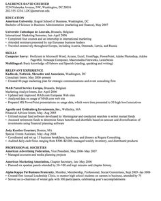Marketing Analyst Resume Pen Pal Sample Letter  Networking  Pinterest