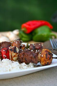 Asian Beef Kebabs
