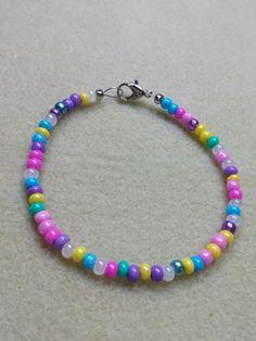 Custom Seed bead bracelet just in time for Easter. by ReedersBeads, $6.50