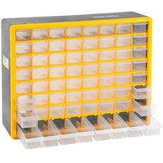 Organizador Multiuso Plástico 64 Gavetas - Americanas.com