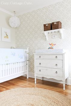 Cutest. Nursery. EVER.  Cozy.Cottage.Cute.: Little Ninja's Nursery