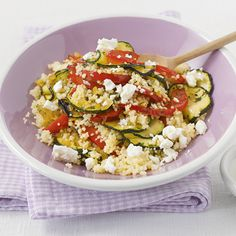 Gemüsepfanne mit Couscous