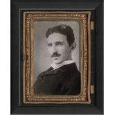 Nikola Tesla Tintype Wall Art