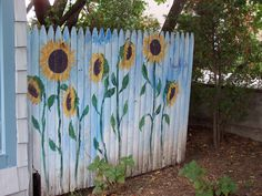 Painted fence | I love stumbling upon colorful things like t… | Pattie Tierney | Flickr