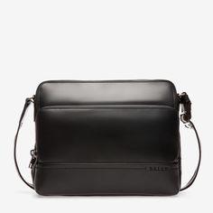 f6edc1c79a08 TAU - BLACK CALF Crossbody Bags Calf Leather, Leather Men, Designer Crossbody  Bags,