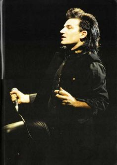 Bono's sweet mullet