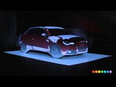 Audi :: A1 Car :: Projection Mapping :: #Tradeshow #Technology #Design