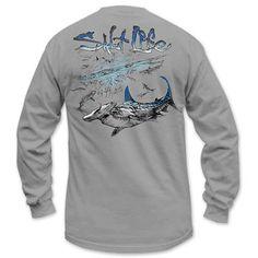 Salt Life Hammerhead Craze Long Sleeve T-Shirt #saltlife #shark