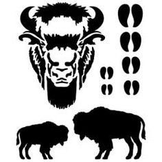 Buffalo Leathercraft Stencil