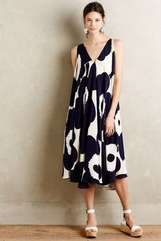 Marimekko Lindo Swing Dress #anthroregistry