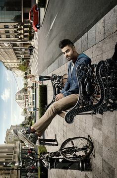 """2015 campaign for the men's casual wear clothing """"Wrogn"""", from the indian international cricketer Virat Kohli. The main idea of the images remain on the title """"Let the world adjust. Anushka Sharma Virat Kohli, Virat And Anushka, Virat Kohli Wallpapers, Dhoni Wallpapers, Latest Cricket News, Casual Wear For Men, Poses For Men, Stylish Boys, Bollywood Actors"""