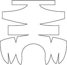 Resultado de imagem para head puppet pattern