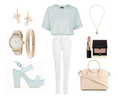 """""""💧⭐️💧"""" by infinity-times-infinity1 ❤ liked on Polyvore featuring Topshop, WearAll, Nly Shoes, Givenchy, Timex, Chanel, Marni, Bobbi Brown Cosmetics and Kevyn Aucoin"""