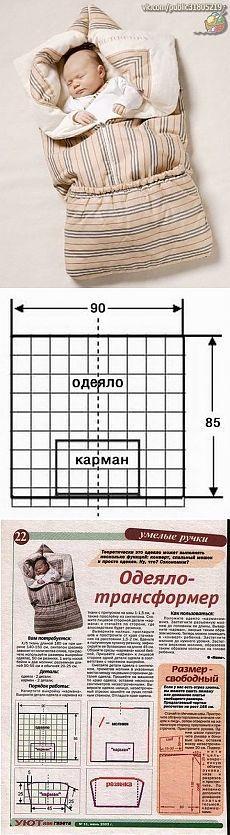 Одеяло трансформер
