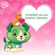 Print this Scout Valentine's Card for your little loved one