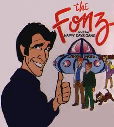 The Fonz and the Happy Days Gang TV series): Henry Winkler, Ron Howard, Don Most, Garry Marshall: Movies & TV Hanna Barbera, Garry Marshall, The Fonz, Saturday Morning Cartoons, Movies To Watch Online, Cartoon Tv, Cartoon Crazy, Classic Cartoons