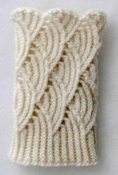Para as tricoteiras, um grafico para ajudar na leitura